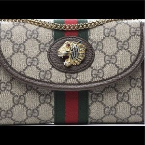 Gucci -Rajah mini chain purse. 💯 Authentic
